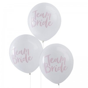 balon nadruk Team Bride