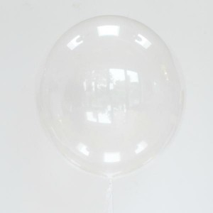 balon  kula transparentny bubble 51 cm